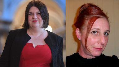 Guilty: Susan Aitken was stalked by Amanda McCutcheon.
