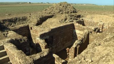 Bunker: Hidden control centre found underground.