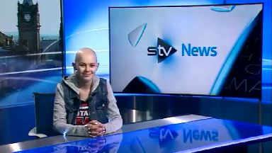 Message: Kira thanked viewers for support on STV News.