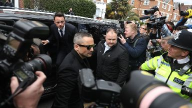 Ant McPartlin: Presenter arriving at court.