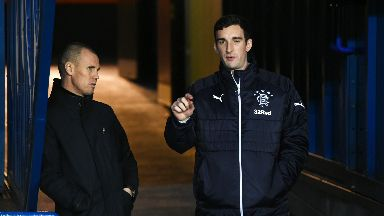 Kenny Miller (left) and Lee Wallace (right) are set for talks with Rangers officials.