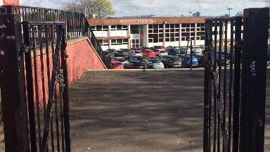 Govan High: Police appealing for information (file pic).
