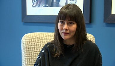 Ailsa Clarke: Spoke of diagnosis struggle.