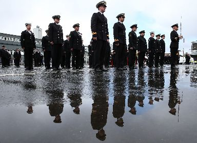 50th anniversary: Scotland's largest naval base (PA).