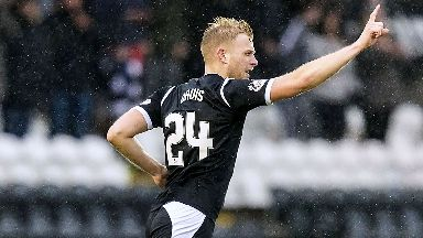 Harry Davis signed for St Mirren in January 2017.