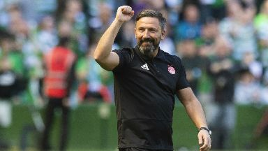 Derek McInnes has guided Aberdeen to second for four straight seasons.