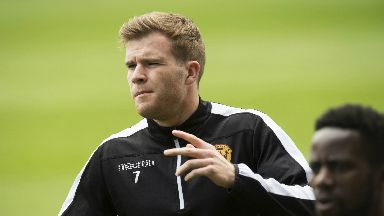 Motherwell midfielder Chris Cadden said the build-up to the Scottish Cup final had left him with butterflies in his stomach.