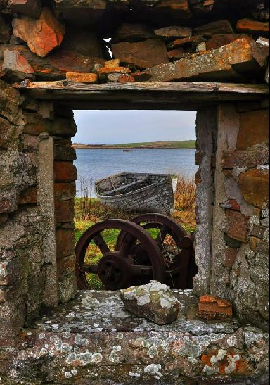A simple view into the old fishing ways.