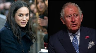 Wedding news: Prince Charles will walk Meghan Markle down the aisle.