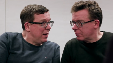 The Proclaimers: Legendary singing duo cameo in episode three.