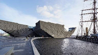 Dundee hopes to write its own regeneration story with the £80m V&A museum.