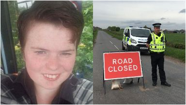 Annalise Johnstone: Roads were cordoned off.