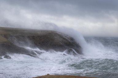 Wild waves.