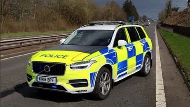 A77: Police appeal for dash-cam footage.