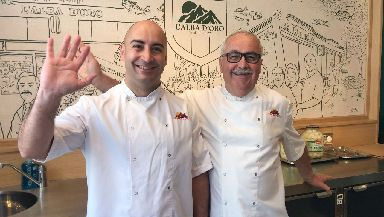 Gino and his father Filippo are both still involved in the business today.
