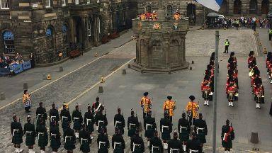 Edinburgh: Monument used for royal proclamations.