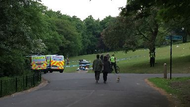 Glasgow: Kelvingrove Park has attracted trouble in the past.