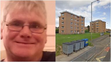 Gary Gallogley: Murdered in his flat.