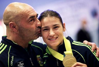 Pete Taylor with his daughter Katie