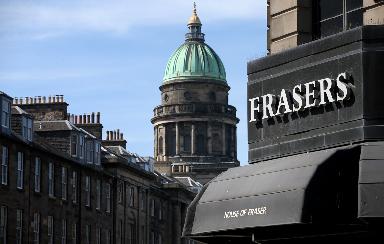 House of Fraser: 127 jobs at Edinburgh store at risk.