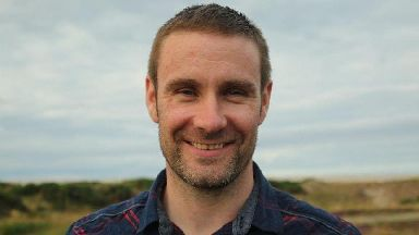 Andrew Pearce: Died after crash in Moray.