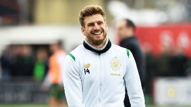 Celtic midfielder Stuart Armstrong has twelve months remaining on his contract.