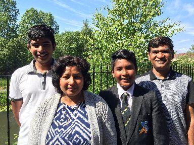 Bakhsh family: Fled Pakistan six years ago.