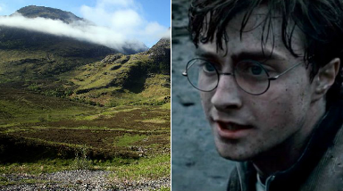 Harry Potter: Glencoe was the location of Hagrid's hut in the films.