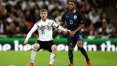 Timo Werner is likely to lead the line for Germany in Russia.
