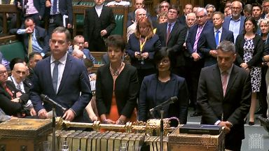 Brexit Bill: MPs line up to announce the result of the vote in the House of Commons.