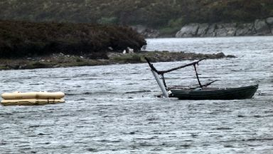 Fatal crash: Man killed after helicopter plunged into loch.