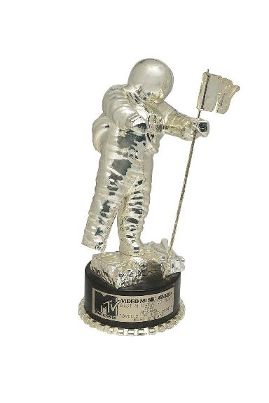 The MTV video award for Smells Like Teen Spirit.