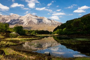 A picturesque setting in the Torridon area of the Highlands.