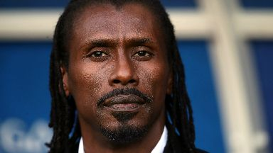 Aliou Cisse has led Senegal to a strong start at the World Cup.