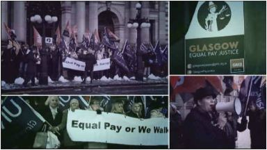 Equal pay: Nearly 600 council workers have joined a planned action.
