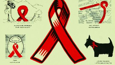 Many campaigns were created to raise awareness about HIV and AIDS.