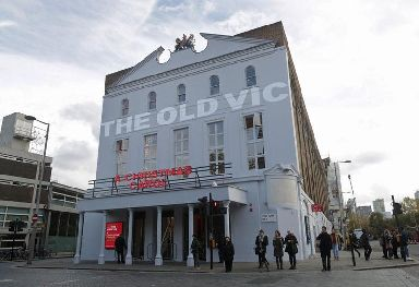 Kevin Spacey was artistic director at The Old Vic theatre in London from 2004-2015