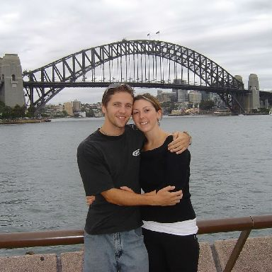 The couple met in Australia and enjoyed travelling trips together.