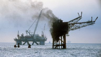 Piper Alpha disaster on 6/7/88