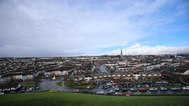 The Bogside area of Londonderry