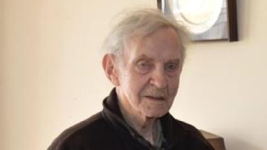James Mainland: Dementia-sufferer missing since Saturday.