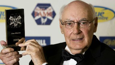 Alan Gilzean was inducted into Scottish football's hall of fame in 2009.