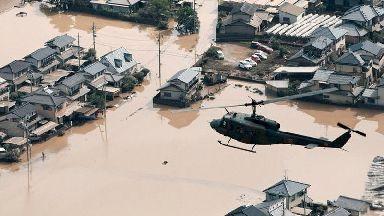 Japan: At least 100 people dead.