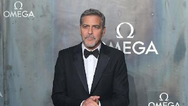 George Clooney is recovering after a scooter accident.