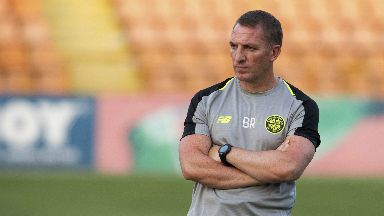 Brendan Rodgers saw Celtic claim the advantage against Yerevan.