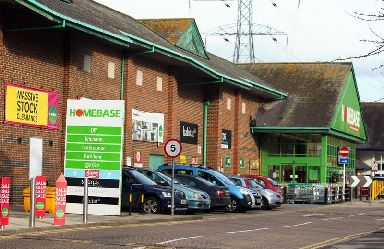 B&Q's rival, Homebase, is undergoing a restructuring