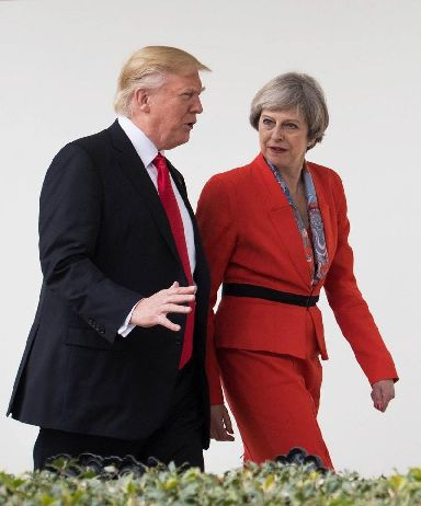 A meeting between Mr Trump and his 'friend' Boris Johnson would embarrass Theresa May, days after he quit as foreign secretary over her Brexit plans