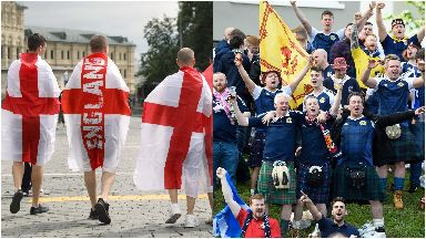 Auld Enemy: Can England and Scotland fans support each other's teams?