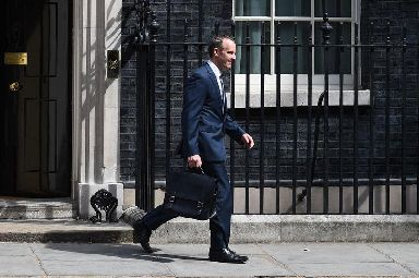 Dominic Raab was unveiling the Brexit blueprint on Thursday
