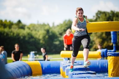 Rough Runner is an obstacle course challenge.